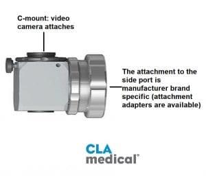 c-mount video camera adapter